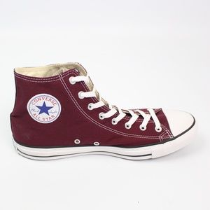 Converse High top Burgundy Shoes All Star classic